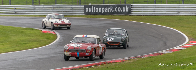 MGB Roadster 1964, Ashley MG Midget 1965, Lotus Elan S2 1964